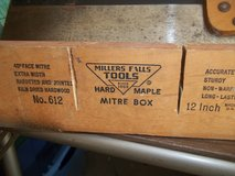 MILLER FALLS MITRE BOX WITH SAW in Byron, Georgia