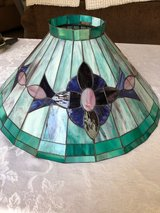 Beautiful stained glass lamp shade in Aurora, Illinois