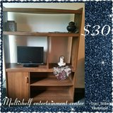 REDUCED Multishelf entertainment center in Fort Campbell, Kentucky