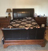 queen size bed frame with head and foot board in Yucca Valley, California