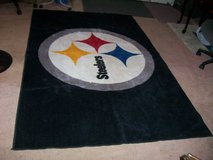 NFL PITTSBURGH STEELERS  (EXTRA LARGE) AREA FOOTBALL RUG. in Fort Eustis, Virginia