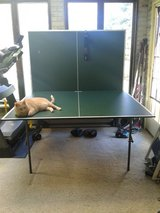 ping pong table in Fort Drum, New York