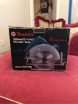 NIB Makita Circular Saw in Kingwood, Texas