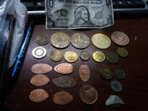 Mix coin lot Disney Queen pence wheat penny mix in El Paso, Texas