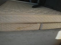 Free mattress and box spring in 29 Palms, California