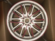 Custom Rims- White in Fairfield, California