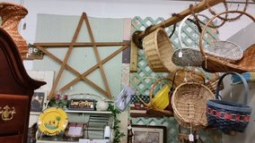 Large wood star in Clarksville, Tennessee