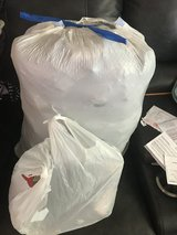 Trash Bag Full Of Military Items in Fort Campbell, Kentucky