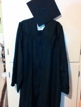 Graduation cap and gown in Byron, Georgia