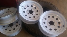 15 inch trailer rims in Leesville, Louisiana