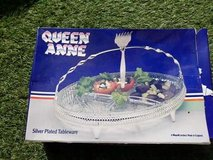 Queen Anne silver plated table ware, unused in Lakenheath, UK