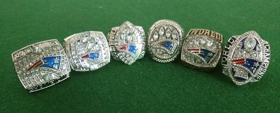 Patriots 6pc Championship Rings in Hopkinsville, Kentucky