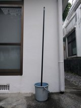 Pole with stand in Okinawa, Japan