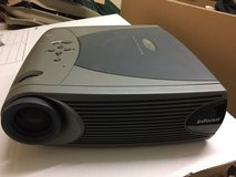 Infocus LP350 Projector with White Roll Screen in Lakenheath, UK