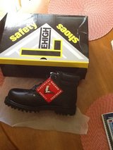 Lehigh over the ankle, steel toe work boots. NEW in the box. in Tinley Park, Illinois