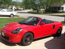 2001 Toyota MR2 Spyder 5 speed Convertable, New tires, New Battery, Great Condition, Must See, d... in Rolla, Missouri