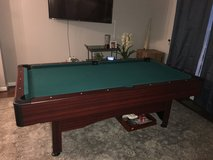 Pool Table for Sale (includes sticks and balls for free) in Fairfax, Virginia