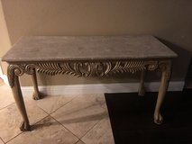 Console Marble Table in Fairfield, California