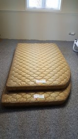 RV full size bunk mattresses-never used in Naperville, Illinois