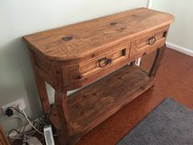 American pine hall table with 2 drawers in Lakenheath, UK