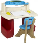 Step 2 Toddler Desk & Chair in Fort Campbell, Kentucky
