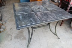 Tile top patio table in Wilmington, North Carolina