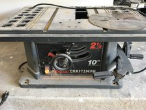 """Craftsman 10"""" Table Saw (flooded) in Kingwood, Texas"""