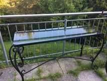 Iron and glass table (indoor or outdoor) delivery possible this Friday in Stuttgart, GE