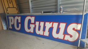 10 Ft X 30 Inches Lighted Sign-NEED TO SELL!!! MAKE ME AN OFFER!!! in Fort Campbell, Kentucky