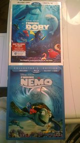 Brand NEW sealed Finding Nemo and Finding Dory DVD/Blu-ray BOTH $15.00 in Travis AFB, California