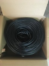 Ultra CAT5E Stranded Patch Network Cable Lightly Used 1000Ft Box in Chicago, Illinois