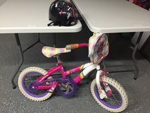 """12"""" Carebear bicycle with helmet in Morris, Illinois"""