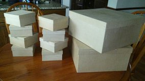 Paper Mache Craft boxes (Square) in Lockport, Illinois