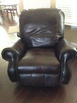Leather Rocker/Recliner in The Woodlands, Texas
