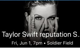 Taylor Swift Reputation Tour Tickets for Friday, June 1! in Lockport, Illinois