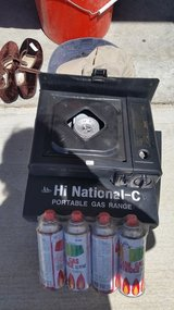 Attn: Joshua Tree Campers! - Portable Gas Range with 4 Gas Cartridges - $10 (Joshua Tree) in Yucca Valley, California