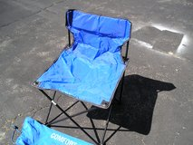 PORTABLE CAMP CHAIRS - PAIR in Oswego, Illinois