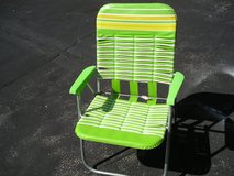 FOLDING LAWN CHAIRS - PAIR in Oswego, Illinois
