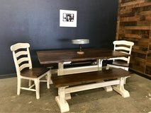 solid wood dining tables in Pearland, Texas