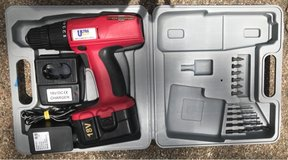 Ultra Steel 18 volt Reversible Drill Driver Kit in Spring, Texas