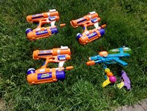 Water weapons - super soaker type toys - perfect for the HOT WEATHER in Fort Knox, Kentucky
