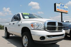 "2007 Dodge Ram 2500 Quadcab 4X4 ""Diesel"" #10722 in Lexington, Kentucky"