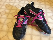 Girls Soccer Cleats size 4 in Aurora, Illinois