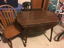 Small kitchen table with one chair in Fort Hood, Texas