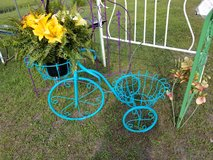 Iron Tricycle Plant Stand in Camp Lejeune, North Carolina