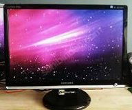 """SAMSUNG 22"""" WIDESCREEN MONITOR in Plainfield, Illinois"""
