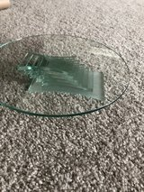 Partylite 3 wick candle holder glass tray in Joliet, Illinois