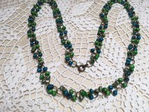 Vintage Wooden Beads Necklace Lightweight in Houston, Texas