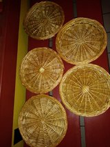 Bamboo plate chargers in Kingwood, Texas