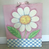 Canvas Wall Picture girl's room in Lockport, Illinois